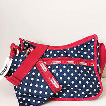 Lesportsac-Cute Navy White Red
