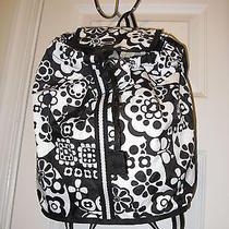 Lesportsac Day Trip Rucksack Backpack Merry Go Round Black White Photo