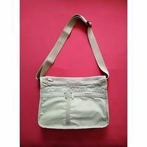 Lesportsac Deluxe Everyday Bag Crossbody Bag Beige Photo