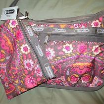 Lesportsac Deluxe Everyday Crossbody Bag Flower Child Nwt 7507 Photo