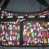 Lesportsac Deluxe Everyday Expandable Summer Camp Crossbody Shoulder Bag Photo
