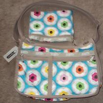 Lesportsac Deluxe Everyday Shoulder Pursematching Wallet Bag Us Blue Sky Flower Photo