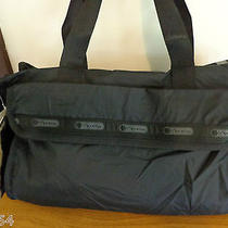 Lesportsac Diaper Bag Black With Pouch and Changing Pad Photo
