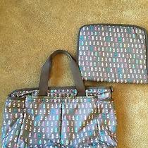Lesportsac Diaper Bag - Milk Bottles Photo