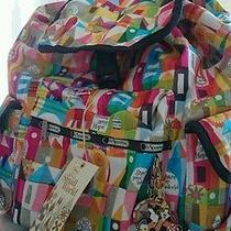 Lesportsac Disney Backpack Magical Journey Brand New Photo