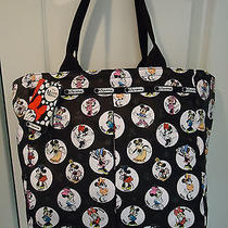 Lesportsac Disney Celebrate Minnie Everygirl Tote & Cosmetics Pouch  Nwt Photo