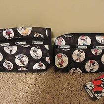 Lesportsac Disney Celebrate Minnie Lily Wallet and Travel Cosmetic Bag Photo