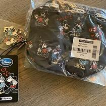 Lesportsac Disney Mickey Loves Minnie Rectangular Cosmectic Case With Charm Nwt Photo