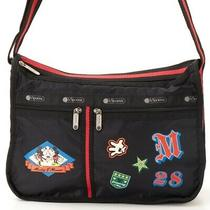 Lesportsac Disney Mickey Mouse Collection U053 Deluxe Everyday Bag Shoulder Tote Photo