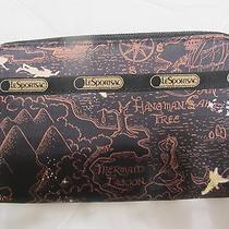 Lesportsac Disney Neverland Tinkerbell Lily Wallet Nwt Photo