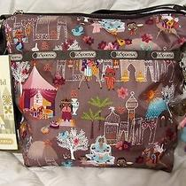 Lesportsac Disney Small World Moroccan Sun Cleo With Charm New With Tags Photo