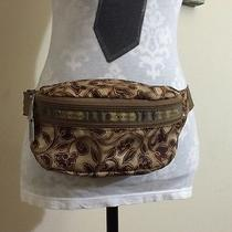 Lesportsac  Double Zip Belt Bag Waist Hip Fanny Pack Tuscan Vine Small Rare Photo