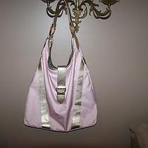 Lesportsac Drum and Bass Sunrise Pink Tote With Leather Trim New Photo
