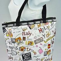 Lesportsac Eco Tote Handbag Travel Folding Bag  Photo