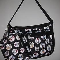 Lesportsac Everyady Deluxe Handbag Nwt Minnie Mouse Photo