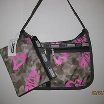 Lesportsac Everyday Deluxe Handbag Modern Love  Nwt Photo