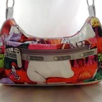 Lesportsac 'Fafi' Artist Collection 2007 Small Hobo-Style Crossbody Bag/purse Photo