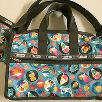 Lesportsac Fun in the Sun-Exclusive Hawaii -Medium Weekender 7184 Includes Pouch Photo