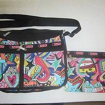 Lesportsac  Handbag  Print Rare Breakdance Print Photo