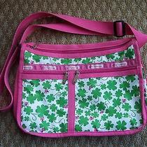 Lesportsac Handbag Shoulderbag Tote Shamrock Lady Bug Design Cute Cute Photo