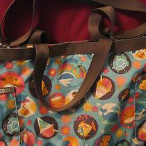 Lesportsac Hawaii 'Fun in the Sun' Tote Bag Fine Pre-Owned Condition Photo