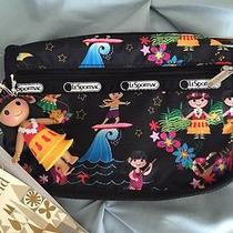 Lesportsac Hawaii Polynesian Paradise Cosmetic Case Disney Photo