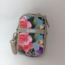 Lesportsac Iphone Cell Phone Camera Wristlet in Floral Pattern Photo