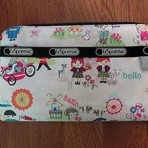 Lesportsac It's a Small World Disnry Every Girl Wallet Photo