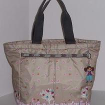 Lesportsac Its a Small World Tote Bag Disney Morocco Caravan of Dreams Charm Photo
