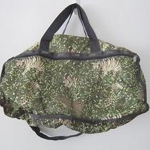 Lesportsac Jungle Print Gym Duffle Athletic Tote Bag Photo