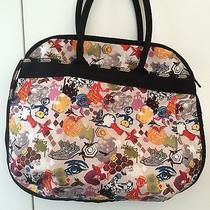 Lesportsac Large Overnight Tote - Rare Design and Discontinued Pattern Photo