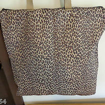 Lesportsac Leopard Print Large Tote/shopper/shoulder Bag Photo