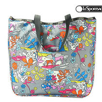 Lesportsac Lezip Tote - Paint by Number Photo