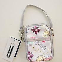 Lesportsac - Light Pink Paula Girly Soiree Small Cellphone Wallet Wristlet Nwt Photo