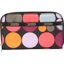 Lesportsac Lily Wallet - Dot O Fun Ladies Clutch Wallet New Photo