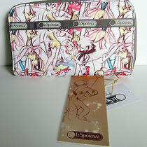 Lesportsac Lily Wallet Tink Marc Davis Print - New With Tags Disney Tinkerbell Photo