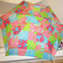 Lesportsac Mini Umbrella - Purrr-Fect Patch Print by Lilly Pulitzer - New Photo