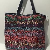 Lesportsac Number Graphic Nylon Tote Photo