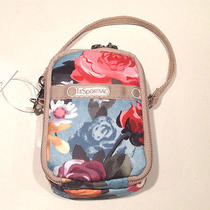 Lesportsac   Phone/camera Compact Wallet Wristlet Carryall Style7907 Nwt Photo