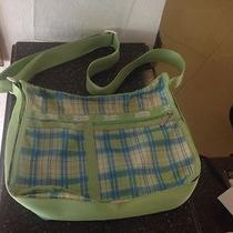 Lesportsac Plaid Print Crossbody Messenger/diaper Bag Tote Photo