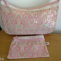 Lesportsac Sequin Purse Pocketbook Pink  Photo