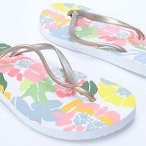 Lesportsac Shoes Key West Jardin/soft Gold Flip Flops Sandals Womens 9/10 L Photo
