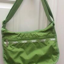 Lesportsac Shoulder Bag Crossbody Messenger Purse Green Photo