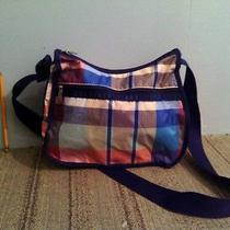Lesportsac Shoulder Bag Messenger Purse Plaid Photo