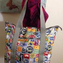 Lesportsac Shout Retro Tote Extremely Rare Print Photo