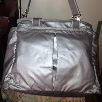 Lesportsac Silver Ryan Baby Weekender Diaper Bag Photo