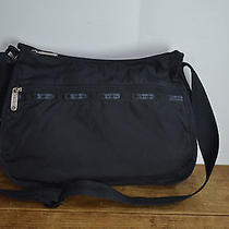 Lesportsac Small Black Nylon Shoulder Bag / Tote Bag Photo