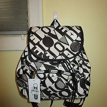 Lesportsac Small Edie Backpack Nwt 9809 Love Is Bold Photo