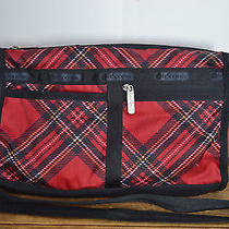 Lesportsac Small Nylon Multi Colored  Plaid / Shoulder Bag / Tote Bag Photo
