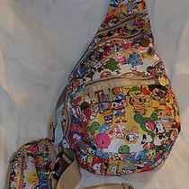 Lesportsac Tokidoki Sling Back - Backpack Carnavil Theme Collectable & Rare Photo